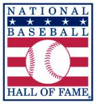 National Baseball Hall of Fame logo.