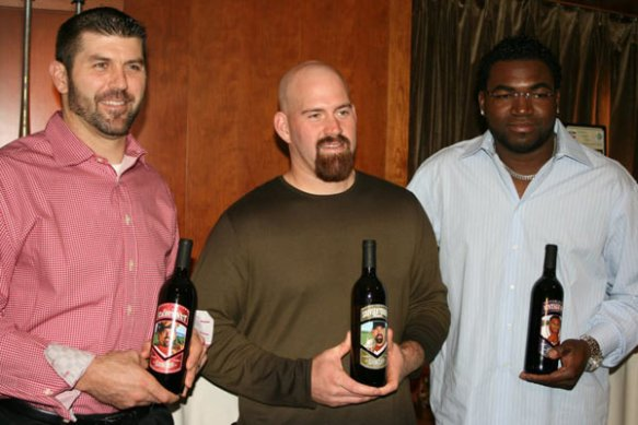 Charity Hop event with Jason Varitek, Kevin Youkilis and David Ortiz.
