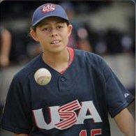 Jade Gortarez, USA Baseball